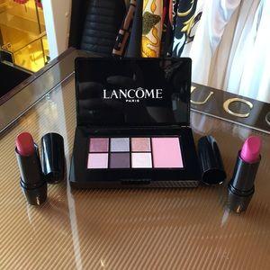 Lancome Glam Day Look Palette W/ 2 Pink Li…
